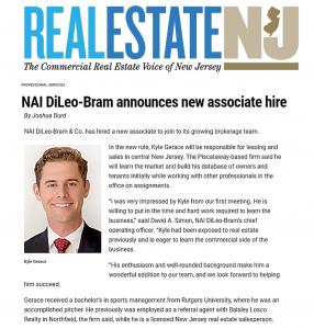 NAI DiLeo-Bram Announces New Associate Hire